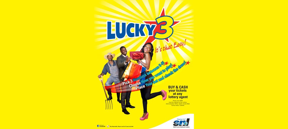 St  Lucia National Lottery - Lucky 3